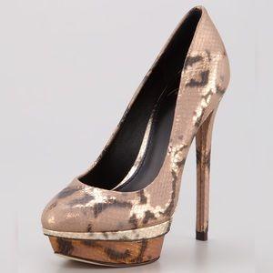 Brian Atwood Fontanne Platform Heels